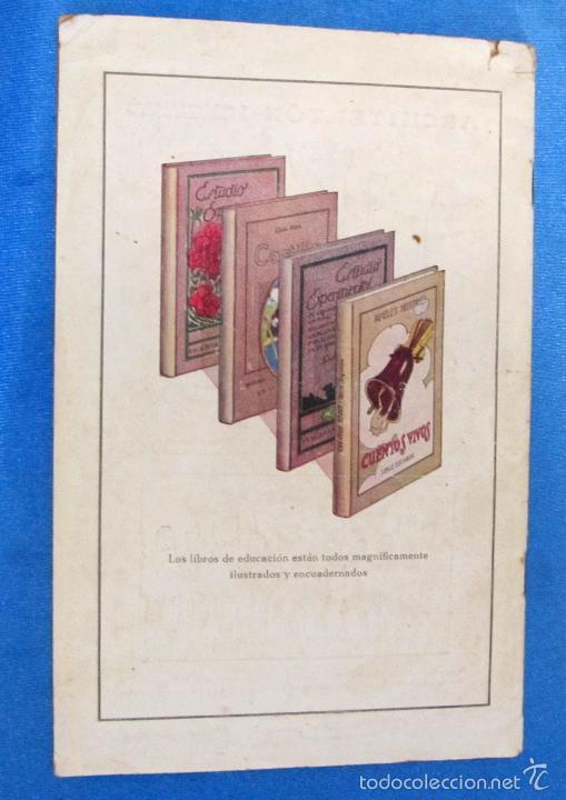 Catálogos publicitarios: LIBROS Y JUGUETES. CATÁLOGO 1924. I. G. SEIX Y BARRAL HERMS, EDITORES, BARCELONA. - Foto 8 - 59046800