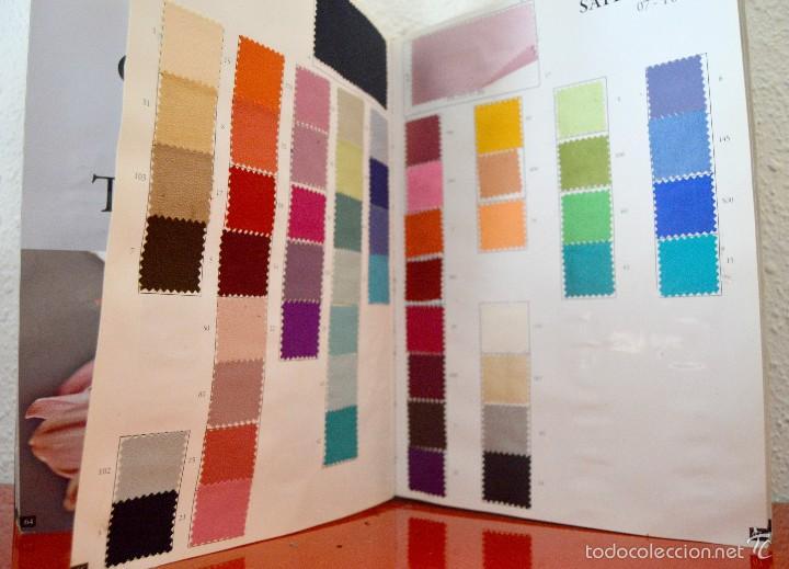 Catalogo muestrario de telas y tejidos silk c comprar for Muestrario de azulejos