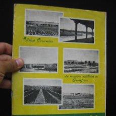 Catálogos publicitarios: INEDITO! REVISTA CATALOGO VIVEROS CASTILLA ARANJUEZ 1957 MADRID 61 HOJAS MUCHAS IMAGENES. Lote 59179095
