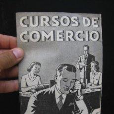 Catálogos publicitarios: CURSOS DE COMERCIO POR CORRESPONENCIA CEDECO MADRID. Lote 59179270