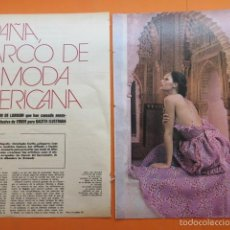 Catálogos publicitarios: ARTICULO 1972 - OSCAR DE LA RENTA PERTEGAZ CALVIN KLEIN SEBASTIAN PALOMO LINARES MODELO MANIQUIES. Lote 59633163