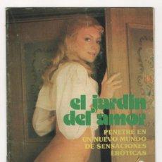 Catálogos publicitarios: (ALB-TC-3) DIFICIL CATALOGO EL JARDIN DEL AMOR Nº 1 TEMA EROTICO . Lote 60893439