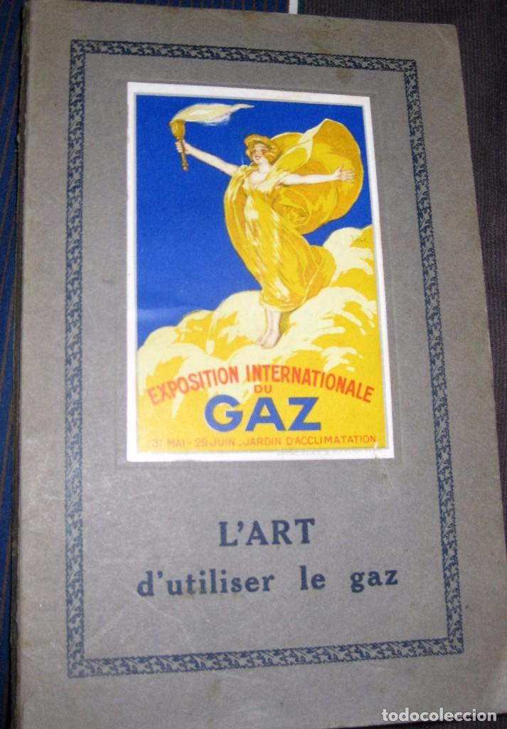 PRECIOSO GUIA CATALOGO LIBRO EXPOSICION INTERNACIONAL DEL GAS PARIS 1924 FRANCES RECETAS COCINA GAZ (Coleccionismo - Catálogos Publicitarios)