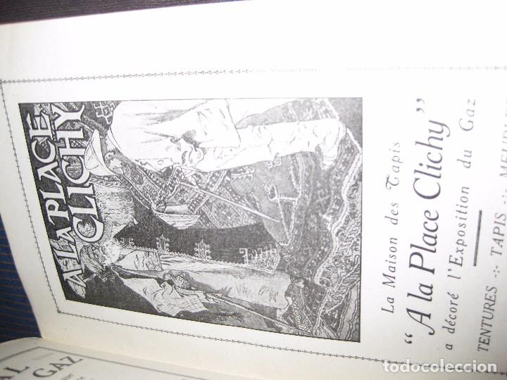 Catálogos publicitarios: Precioso guia catalogo libro exposicion internacional del gas Paris 1924 Frances recetas cocina gaz - Foto 11 - 61698768
