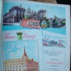 Catálogos publicitarios: LÁMINA COLECCIÓN PUBLICIDAD PROVINCIA DE MADRID BANCO URQUIJO OSBORNE MUEBLES HUARTE PAMPLONA 1955. Lote 61768604