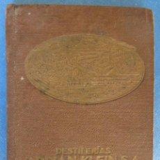 Catálogos publicitarios: DESTILERIAS ADRIAN - KLEIN. ADRIAN KLEIN S.A. BENICARLO, CASTELLÓN. AGENDA CATÁLOGO, 1932.. Lote 61799620