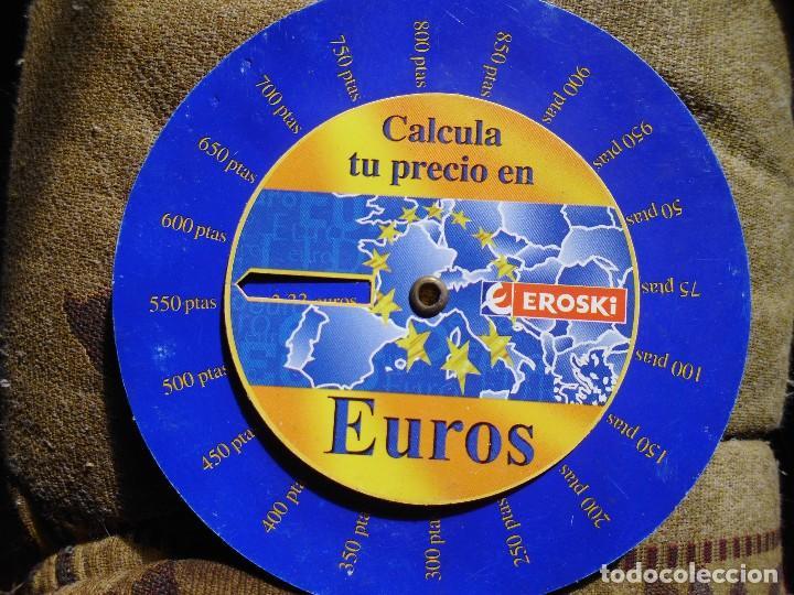 Antiguo Convertidor De Monedas Eroski Comprar Cat Logos