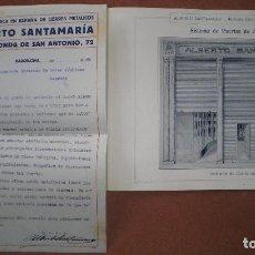 Catálogos publicitarios: ALBERTO SANTAMARIA. CATÁLOGO DE PUERTAS Y CIERRES METÁLICOS. AÑOS 20. Lote 62201564