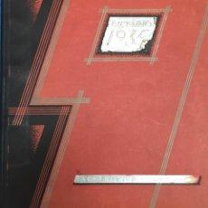 Catálogos publicitarios: ALMACENES JORBA. BARCELONA. DIETARIO 1935. Lote 62431344