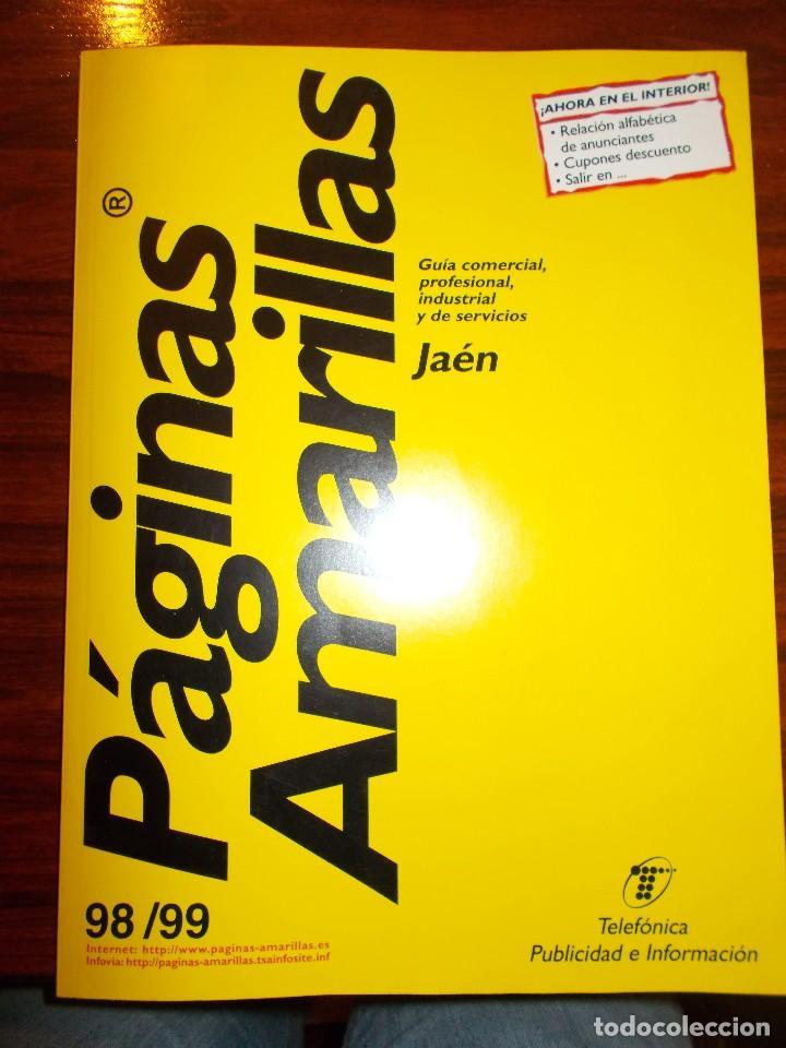 Paginas amarillas 98 99 de ja n comprar cat logos - Paginas amarillas inmobiliarias ...