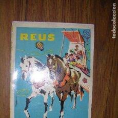 Catálogos publicitarios: REUS FIESTAS DE SAN PEDRO AÑO 1959. Lote 63961543