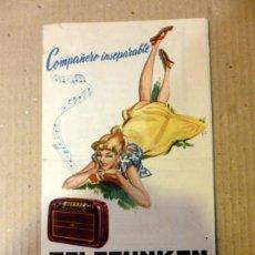 Catálogos publicitarios: RADIO PORTATIL CATALOGO TELEFUNKEN ,TRIPTICO 6 PAG. MUY ILUSTRADO 128X215MM. Lote 63971827