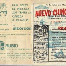 Catálogos publicitarios: PUBLICIDAD *VENTA DE PISOS*, AÑOS 70.. Lote 64433491