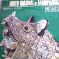 Catálogos publicitarios: MUSEO NACIONAL DE ANTROPOLOGIA DE MEXICO. 1973. Lote 65823366