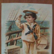 Catálogos publicitarios: AÑOS 20 - PUBLICIDAD EMULSIÓN DE SCOTT QUÍMICOS DE NUEVA YORK - . Lote 66893446