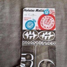 Catálogos publicitarios: HOTELES MELIA / HOTEL NEVADA PALACE / NOCHEVIEJA 1965. Lote 67112413