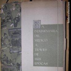 Catálogos publicitarios: LA INDUMENTARIA DEL MEDICO A TRAVES DE SUS EPOCAS 10 LAMINAS MD 35X25CM VER FOTO AD. Lote 67177185