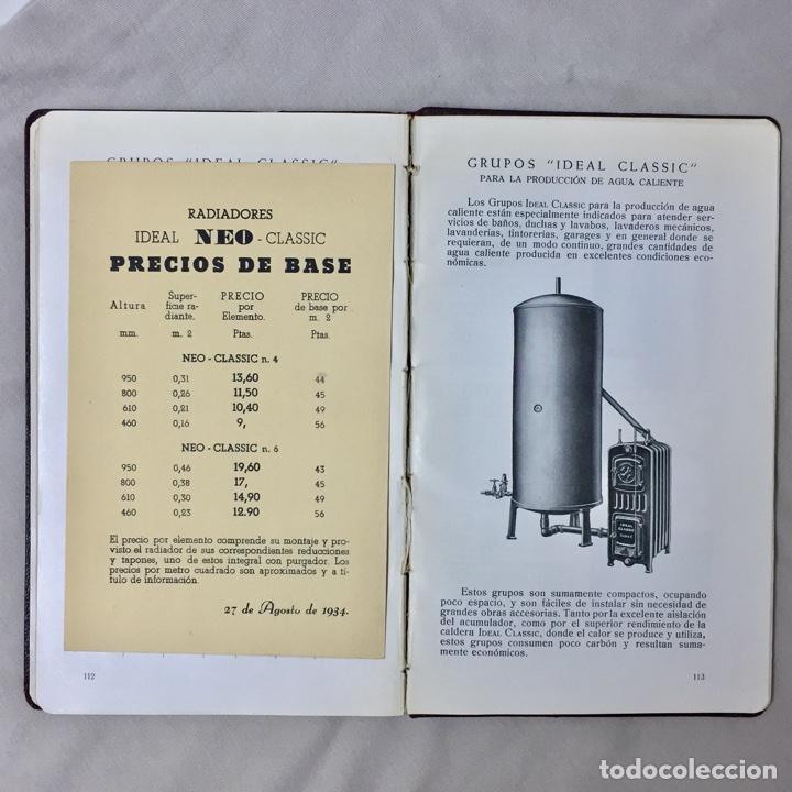 Catalogo radiadores roca n 17 1935 calderas acc comprar for Catalogo roca calefaccion