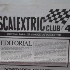 Catálogos publicitarios: LOTE 4 EJEMPLARES REVISTAS SCALEXTRIC CLUB 1969 NUMEROS 1 2 3 Y 4 . Lote 96053696