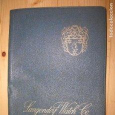 Catálogos publicitarios: CATALOGO LANGENDORF WATCH Nº11 VER FOTOS. Lote 68164121