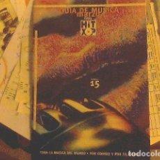 Catálogos publicitarios: GUÍA DE MÚSICA MARZO 1995 HIT XOP. Lote 69018069