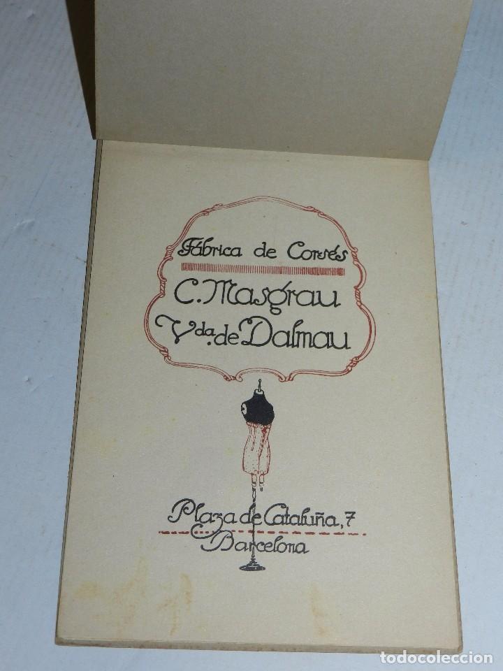 Catálogos publicitarios: CATALOGO FABRICA DE CORSES C MASGRAU VDA DE DALMAU , BARCELONA , AÑOS 20, SEIX & BARRAL - Foto 2 - 70023693