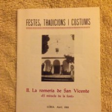 Catálogos publicitarios - Folleto FESTES, TRADICIONS I COSTUMS - 70168483