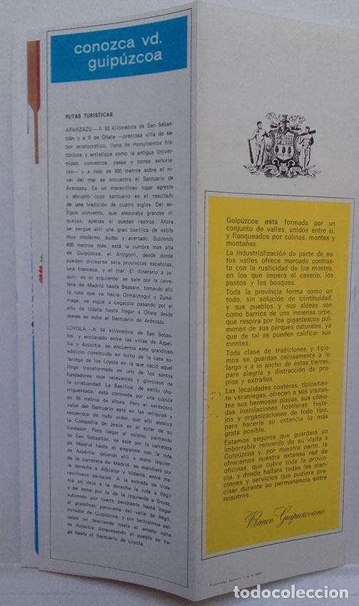 Catálogos publicitarios: GUIPUZCOA ESA GRAN CIUDAD, VERANO 1967, PUBLICIDAD TURISTICA, BANCO GUIPUZCOANO. - Foto 5 - 70450205