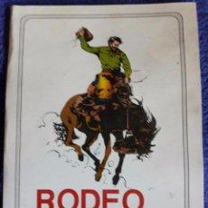 Catálogos publicitarios: CATÁLOGO RODEO SHOW / RESTAURANT CHINO-INDONESIO KAM -LUNG / LLORET DE MAR. Lote 70574741