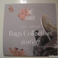 Catálogos publicitarios: FOLLETO BOLSOS MUNICH . Lote 71194537