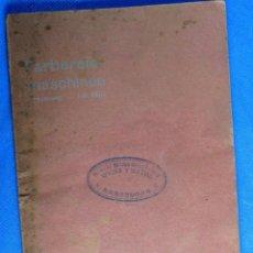 Catálogos publicitarios: CATÁLOGO DE MÁQUINAS PARA ARTES GRÁFICAS. MASCHINEN FABRIK. G. ECKHARDT. LEIPZIG, SIN FECHA.. Lote 35370134