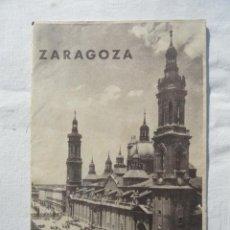 Catálogos publicitarios: FOLLETO PUBLICITARIO PLANO ZARAGOZA. CUADRÍPTICO. AÑOS 60.. Lote 73582831