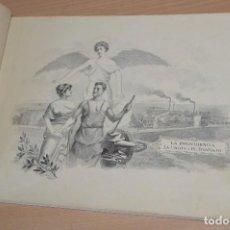 Catálogos publicitarios: ÚNICO - 50 AÑOS DE TRABAJO - BODAS DE ORO DE LA CASA CARBONELL - MUY ANTIGUO - 1866 A 1916 . Lote 73635603