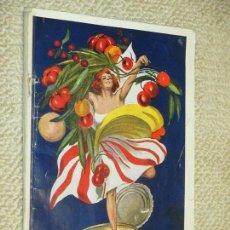 Catálogos publicitarios: CATÁLOGO DE PRODUCTOS DE CONSERVAS ALIMENTARIAS CIRIO, NÁPOLES, ITALIA, EN FRANCÉS, CA. 1911. Lote 74350539