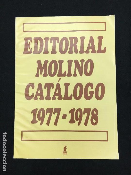 CATÁLOGO. EDITORIAL MOLINO CATÁLOGO. 1977-1978. (Coleccionismo - Catálogos Publicitarios)