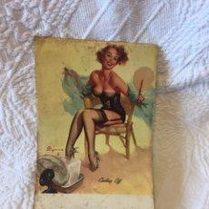 Catálogos publicitarios: CUADERNO DE ANOTACIONES CON CALENDARIO 1960 PUBLICIDAD DELCO. Lote 75496073