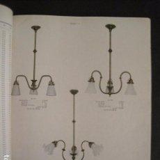 Catálogos publicitarios: EXCEPCIONAL CATALOGO ALEMAN LAMPARAS ANTIGUAS - DECO- MODERNISTAS - 240 PAGINAS-VER FOTOS -(V-9028). Lote 76009739