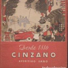 Catálogos publicitarios: ANTIGUO CATALOGO PUBLICITARIO CINZANO 24 PAGINAS. Lote 76612367