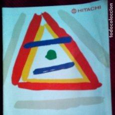 Catálogos publicitarios: ANTIGUO CATALOGO GENERAL HITACHI AÑO 1989-90. Lote 77666613