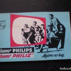Catálogos publicitarios: CATALOGO PUBLICITARIO DE ARTICULOS PHILIPS, 40 PAGINAS, AÑOS 60. Lote 78093769