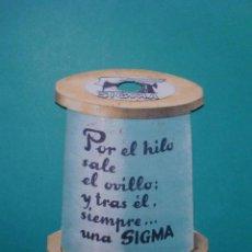 Catálogos publicitarios: SIGMA - SELLO RELOJES RADIOS MAQUINAS DE COSER JUAN VILLORVINA CALAF. Lote 78319129