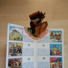 Catálogos publicitarios: PROGRAMA GRAN VINO AÑEJO MONTROY. Lote 79964861