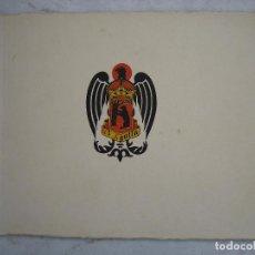 Catálogos publicitarios: ANTIGUO CATALOGO PUBLICITARIO DE LA FÁBRICA DE CERVEZA ÁGUILA DE MADRID, VALENCIA , CORDOBA. Lote 80512881