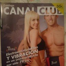 Catálogos publicitarios: REVISTA CATALOGO VENTA POR CORREO -TELETIENDA CANAL CLUB -SEPTIEMBRE-FEBRERO 2011 -REFARPUIZES4. Lote 182961287