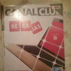 Catálogos publicitarios: REVISTA CATALOGO VENTA POR CORREO -TELETIENDA CANAL CLUB -ENERO 2012. Lote 182961075