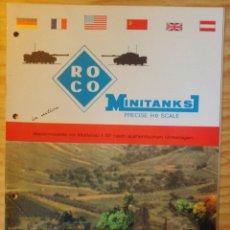 Catálogos publicitarios: CATALOGO DE ROCO. Lote 81202824