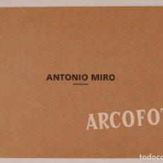 Catálogos publicitários: MIQUELRIUS - 1995 - ANTONIO MIRÓ - CATÁLOGO DE MODA. Lote 81641600