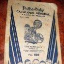 Catálogos publicitarios: CATALOGO DE PELICULAS EN ESPAÑOL CINE PATHE - BABY TIPO B . MODELO 1936. Lote 82213236