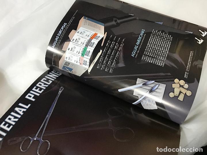 Catálogos publicitarios: RARISIMO CATALOGO PIERCING, BLACK STEEL TATTOO & PIERCING SUPPLIES - Foto 7 - 82409752