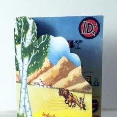 Catálogos publicitarios: INDUSTRIAS DEL CARTONAJE EN LA FERIA DEL CAMPO. PUBLICIDAD TROQUELADA. ZARAGOZA. Lote 82908160
